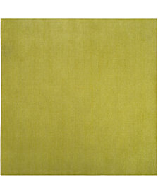 "Surya Mystique M-337 Lime 9'9"" Square Area Rug"