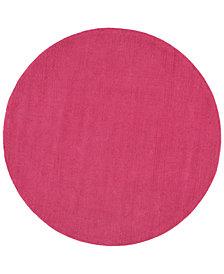 Surya Mystique M-5327 Bright Pink 6' Round Area Rug