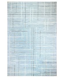 """Hotel Collection Area Rug, City Grid CG1 7' 9"""" x 9' 9"""", Created for Macy's"""