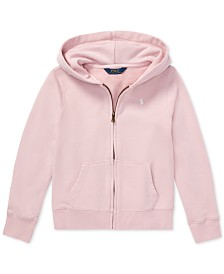new product b2184 841a1 Polo Ralph Lauren Big Girls French Terry Hoodie