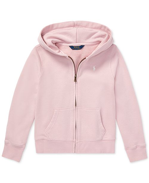 0b3d80e53 Polo Ralph Lauren Big Girls French Terry Hoodie   Reviews - Sweaters ...