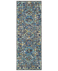 "Surya Harput HAP-1052 Medium Gray 2'7"" x 7'3"" Area Rug"