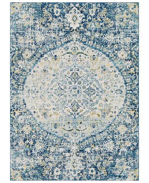"Surya Harput HAP-1046 Dark Blue 5'3"" x 7'3"" Area Rug"