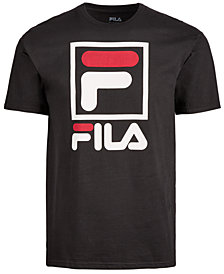 Fila Men's Stacked-Logo T-Shirt