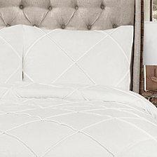 Diamond Pom Pom 3-Piece King Comforter Set