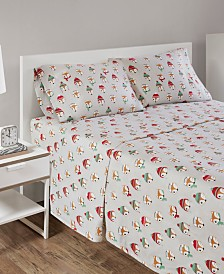 Intelligent Design Cozy Soft Full Cotton Novelty Print Flannel Sheet Set