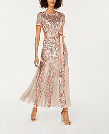Gold Evening Dresses Shop Evening Dresses Macys