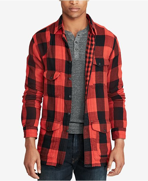 bdf63ca32 Polo Ralph Lauren Men s Great Outdoors Classic Fit Checked Shirt ...