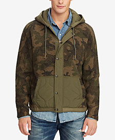 Polo Ralph Lauren Men's Great Outdoors Camouflage Hybrid Jacket