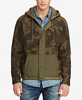 Polo Ralph Lauren Men s Great Outdoors Camouflage Hybrid Jacket e6af66584c86
