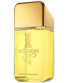 Receive a Complimentary 20-oz. Jumbo Shower Gel with any large spray purchase from the Paco Rabanne 1 Million fragrance collection