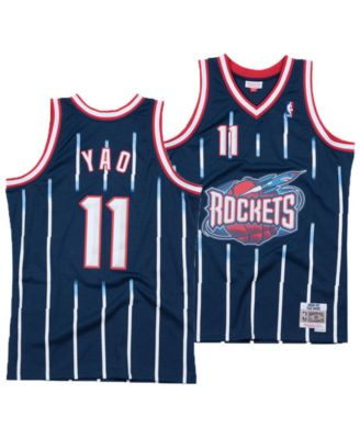low priced a951f 0494f Men's Yao Ming Houston Rockets Hardwood Classic Swingman Jersey