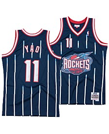 Men's Yao Ming Houston Rockets Hardwood Classic Swingman Jersey