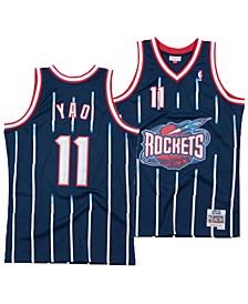 Men's Yao Ming Houston Rockets Hardwood Classic Swingman Jersey