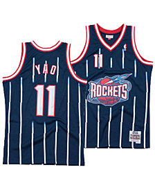 Mitchell & Ness Men's Yao Ming Houston Rockets Hardwood Classic Swingman Jersey