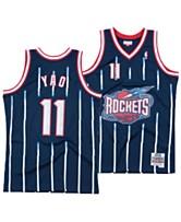 997d3ed3696 Mitchell   Ness Men s Yao Ming Houston Rockets Hardwood Classic Swingman  Jersey
