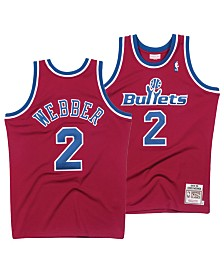 Mitchell & Ness Men's Chris Webber Washington Bullets Authentic Jersey