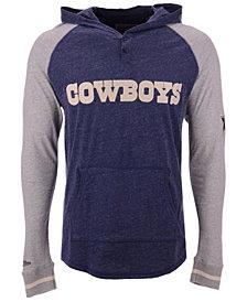 Mitchell & Ness Men's Dallas Cowboys Slugfest Lightweight Hooded Long Sleeve T-Shirt