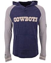 7f28069a8 Mitchell   Ness Men s Dallas Cowboys Slugfest Lightweight Hooded Long  Sleeve T-Shirt