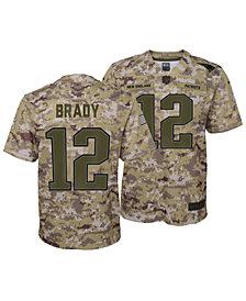 Nike Tom Brady New England Patriots Salute To Service Jersey 2018, Big Boys (8-20)