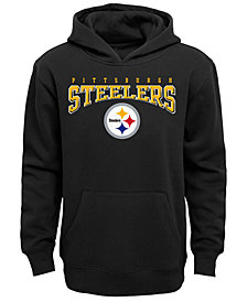 Outerstuff Pittsburgh Steelers Fleece Hoodie, Big Boys (8-20)