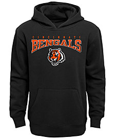 Outerstuff Cincinnati Bengals Fleece Hoodie, Big Boys (8-20)