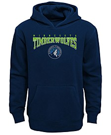 Minnesota Timberwolves Fleece Hoodie. Big Boys (8-20)