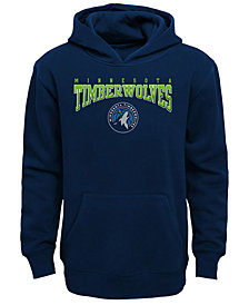 Outerstuff Minnesota Timberwolves Fleece Hoodie. Big Boys (8-20)