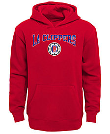 Outerstuff Los Angeles Clippers Fleece Hoodie, Big Boys (8-20)