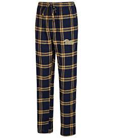 Concepts Sport Men's Pittsburgh Panthers Homestretch Flannel Pajama Pants