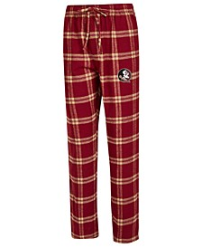 Men's Florida State Seminoles Homestretch Flannel Pajama Pants