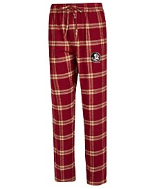 Concepts Sport Men's Florida State Seminoles Homestretch Flannel Pajama Pants