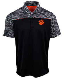 Antigua Men's Clemson Tigers Final Play Polo