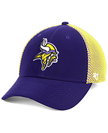 '47 Brand Minnesota Vikings Comfort Contender Flex Stretch Fitted Cap