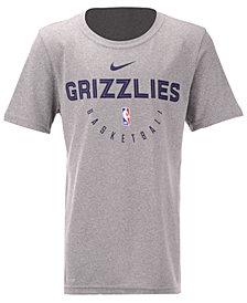 Nike Memphis Grizzlies Elite Practice T-Shirt, Big Boys (8-20)