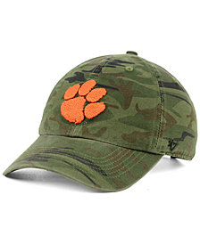 '47 Brand Clemson Tigers Regiment CLEAN UP Strapback Cap