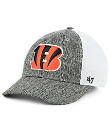 '47 Brand Cincinnati Bengals Hazy Flex CONTENDER Stretch Fitted Cap