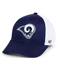 '47 Brand Los Angeles Rams Hazy Flex CONTENDER Stretch Fitted Cap