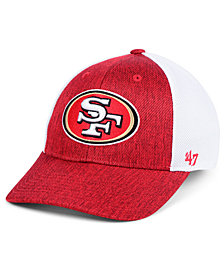 '47 Brand San Francisco 49ers Hazy Flex CONTENDER Stretch Fitted Cap