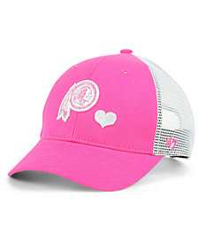 '47 Brand Girls' Washington Redskins Sugar Sweet Mesh Adjustable Cap