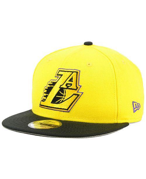 New Era Los Angeles Lakers Light City Combo 9FIFTY Snapback Cap