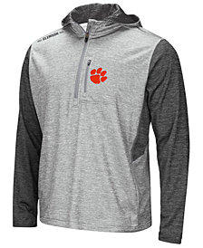 Colosseum Men's Clemson Tigers Reflective Quarter-Zip Pullover