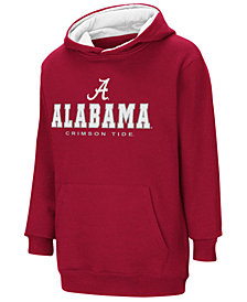 Colosseum Alabama Crimson Tide Pullover Hooded Sweatshirt, Big Boys (8-20)