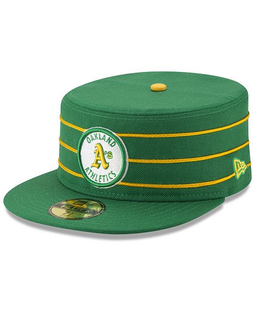 hot sale online ce6c1 0f69c New Era Oakland Athletics Pillbox 59FIFTY-FITTED Cap ...
