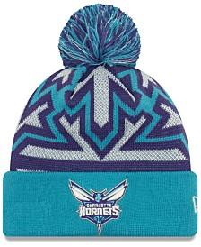 New Era Charlotte Hornets Glowflake Cuff Knit Hat