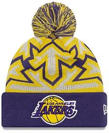 New Era Los Angeles Lakers Glowflake Cuff Knit Hat
