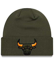Chicago Bulls Tip Pop Cuffed Knit Hat