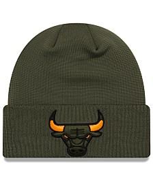 New Era Chicago Bulls Tip Pop Cuffed Knit Hat
