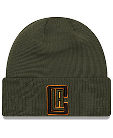 New Era Los Angeles Clippers Tip Pop Cuffed Knit Hat
