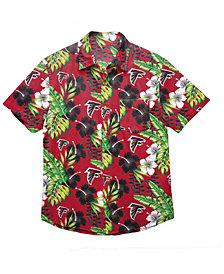Forever Collectibles Men's Atlanta Falcons Floral Camp Shirt